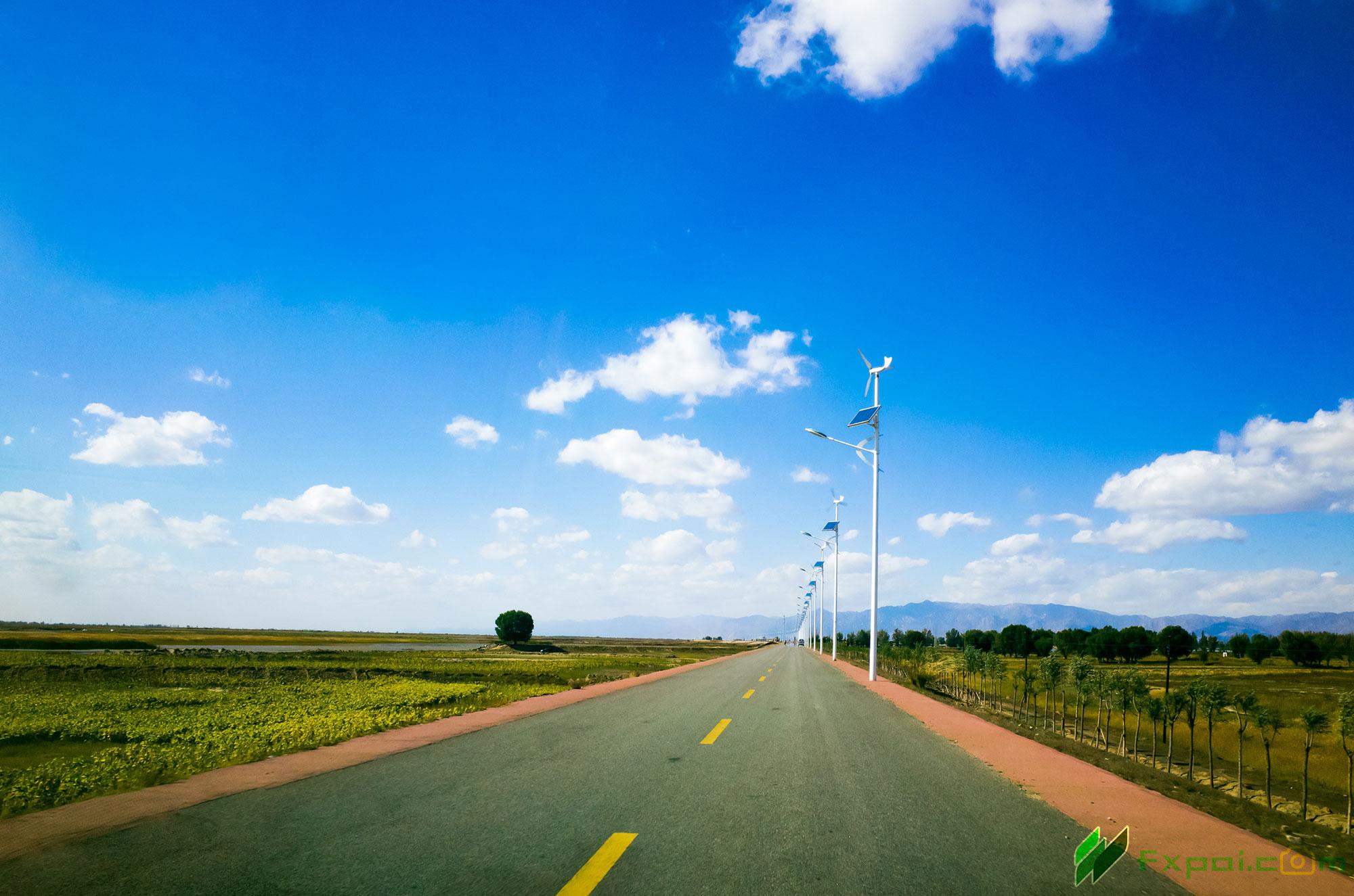 《On the Way》摄于内蒙古境内